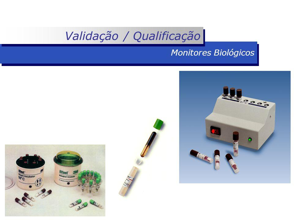 Monitores Biológicos Validação / Qualificação