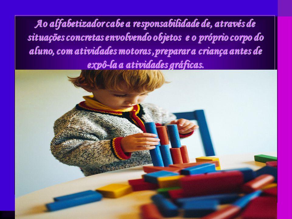 BRINCAR O DESPERTAR PSICOMOTOR Atividades lúdicas e sua importância na alfabetização.