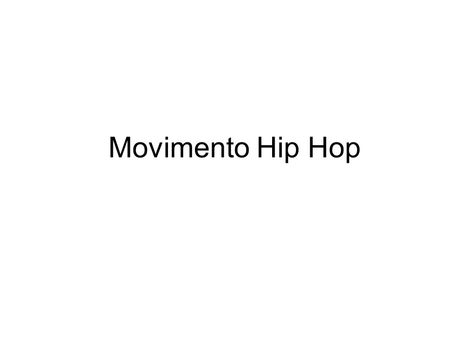 Movimento Hip Hop