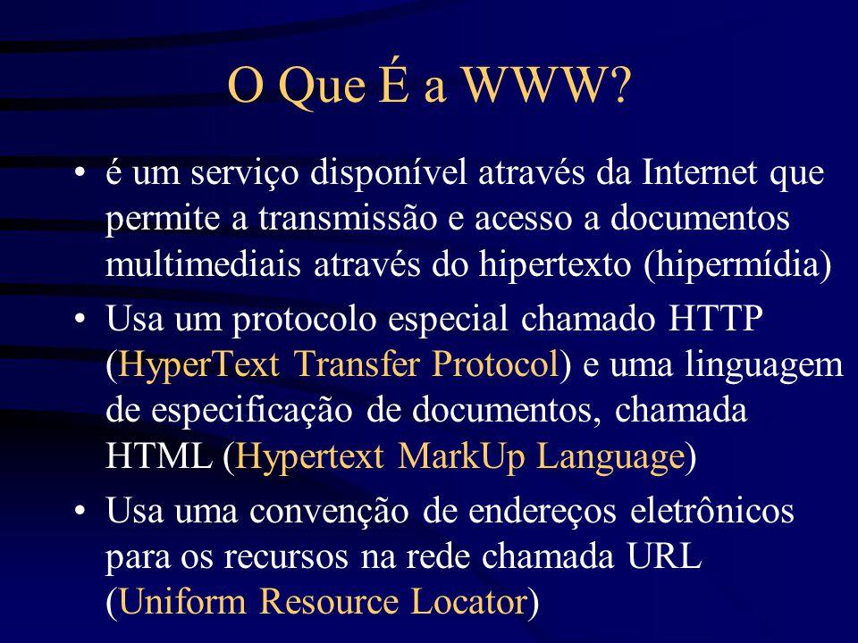 O Que É a WWW.