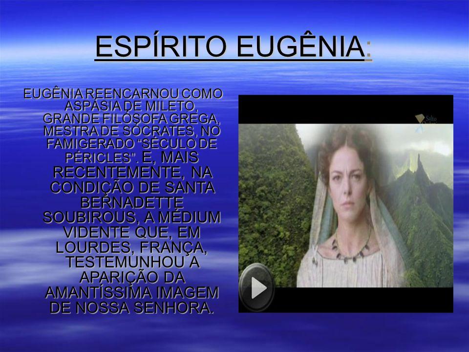 ESPÍRITO EUGÊNIA: EUGÊNIA REENCARNOU COMO ASPÁSIA DE MILETO, GRANDE FILÓSOFA GREGA, MESTRA DE SÓCRATES, NO FAMIGERADO SÉCULO DE PÉRICLES .