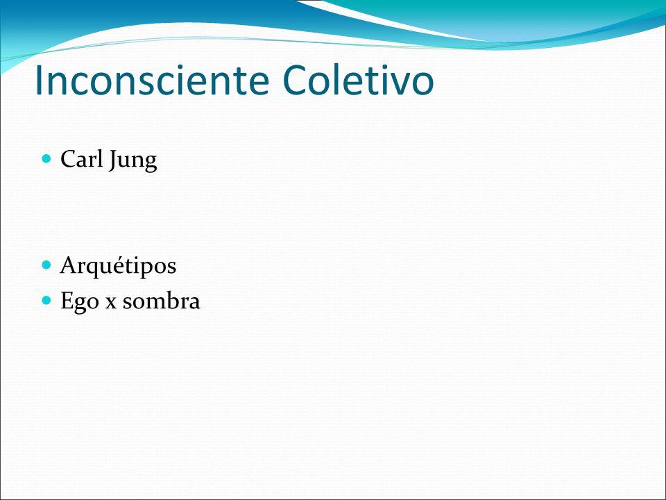 Inconsciente Coletivo Carl Jung Arquétipos Ego x sombra