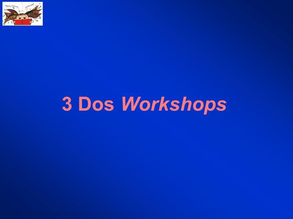 3 Dos Workshops