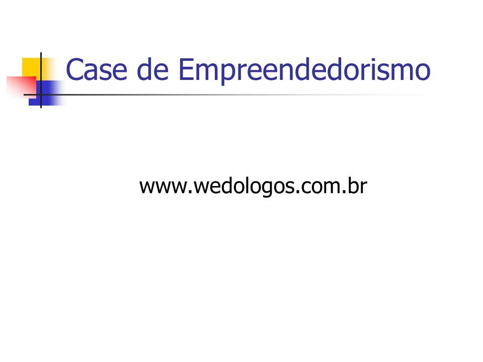 Case de Empreendedorismo www.wedologos.com.br