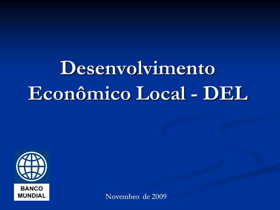 Desenvolvimento Econômico Local - DEL Novembro de 2009