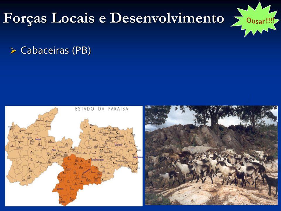 Forças Locais e Desenvolvimento  Cabaceiras (PB)