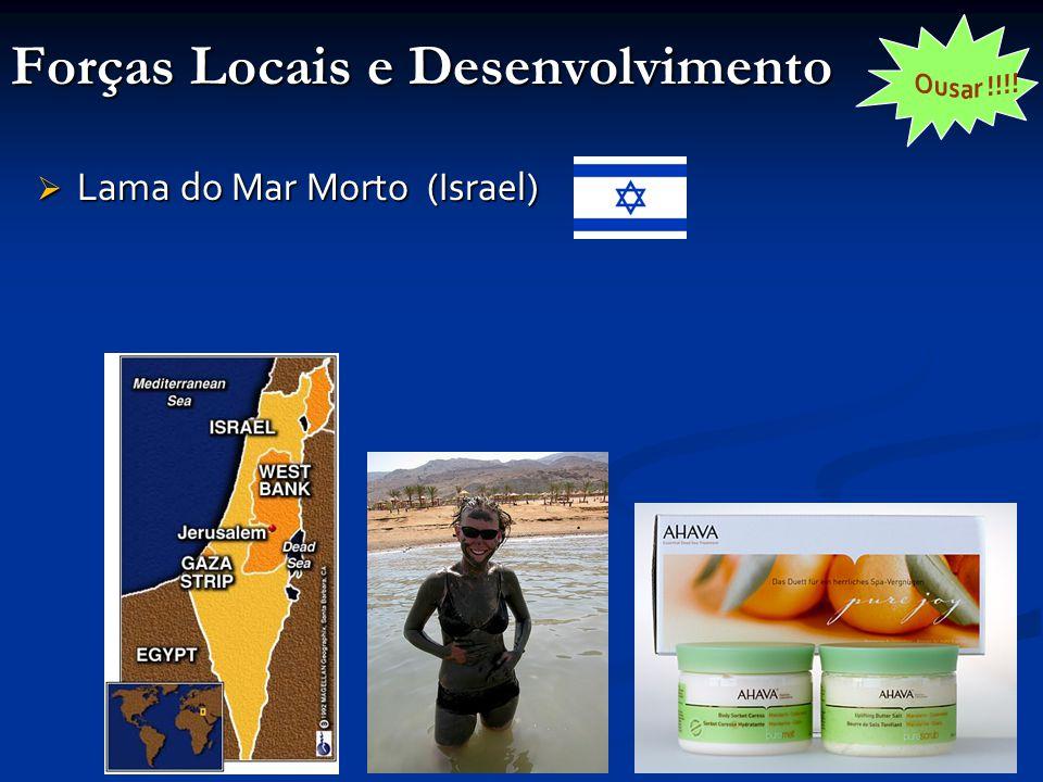 Forças Locais e Desenvolvimento  Lama do Mar Morto (Israel)