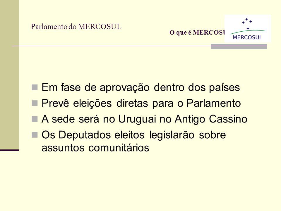 Observatório Mercado de Trabalho O que é Mercosul? O Observatório do Mercado do Trabalho, funciona dentro da estrutura do Mercosul e tem como objetivo