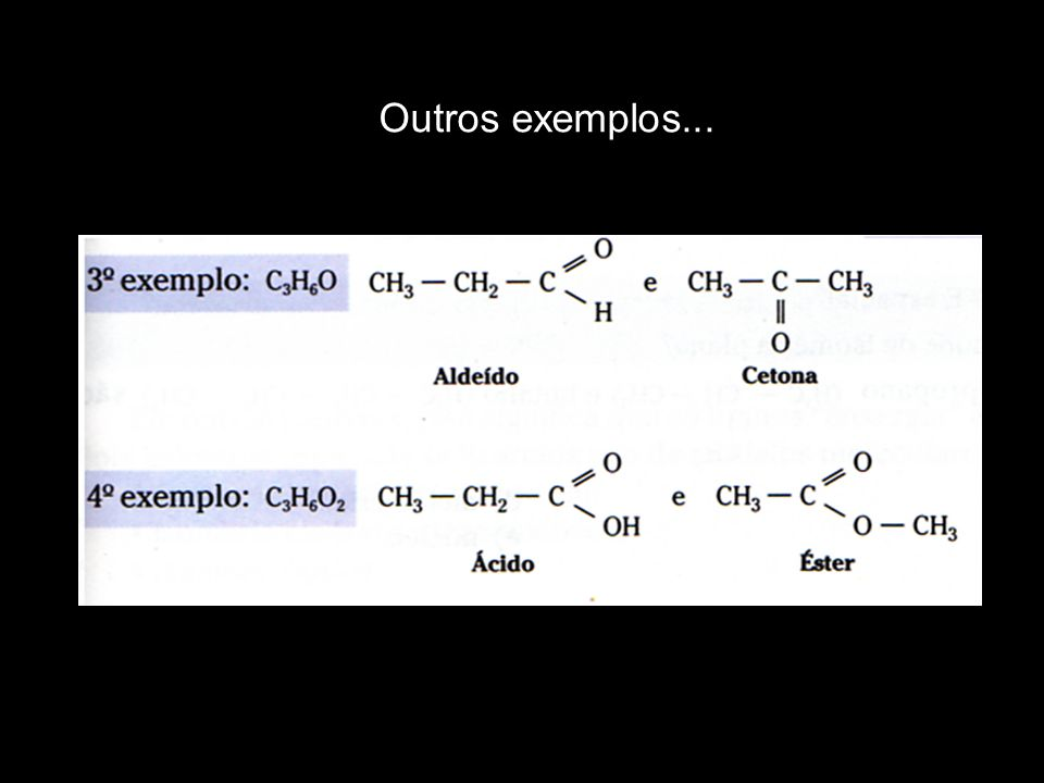 Outros exemplos...