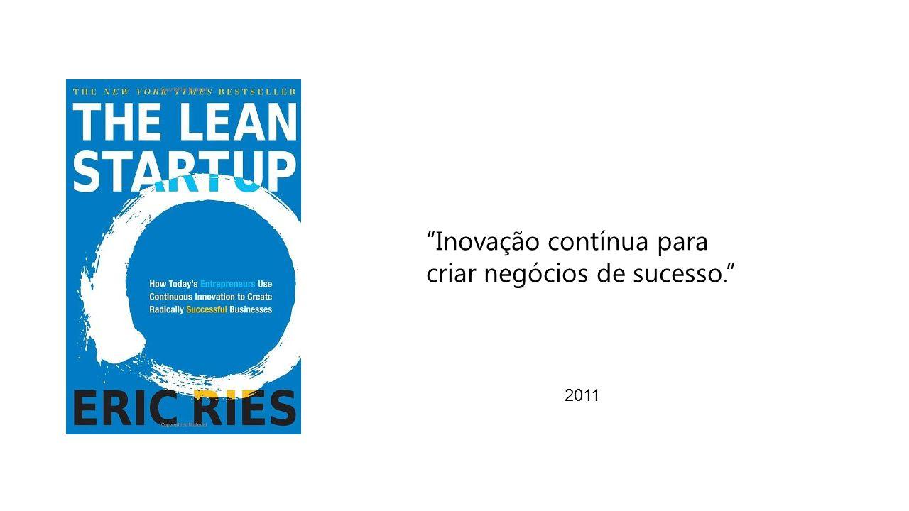 2011 Inovação contínua para criar negócios de sucesso.