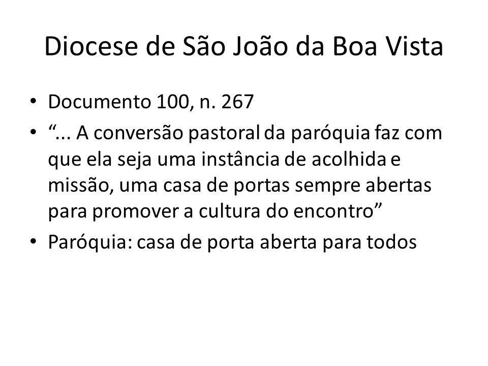 Diocese de São João da Boa Vista Documento 100, n.