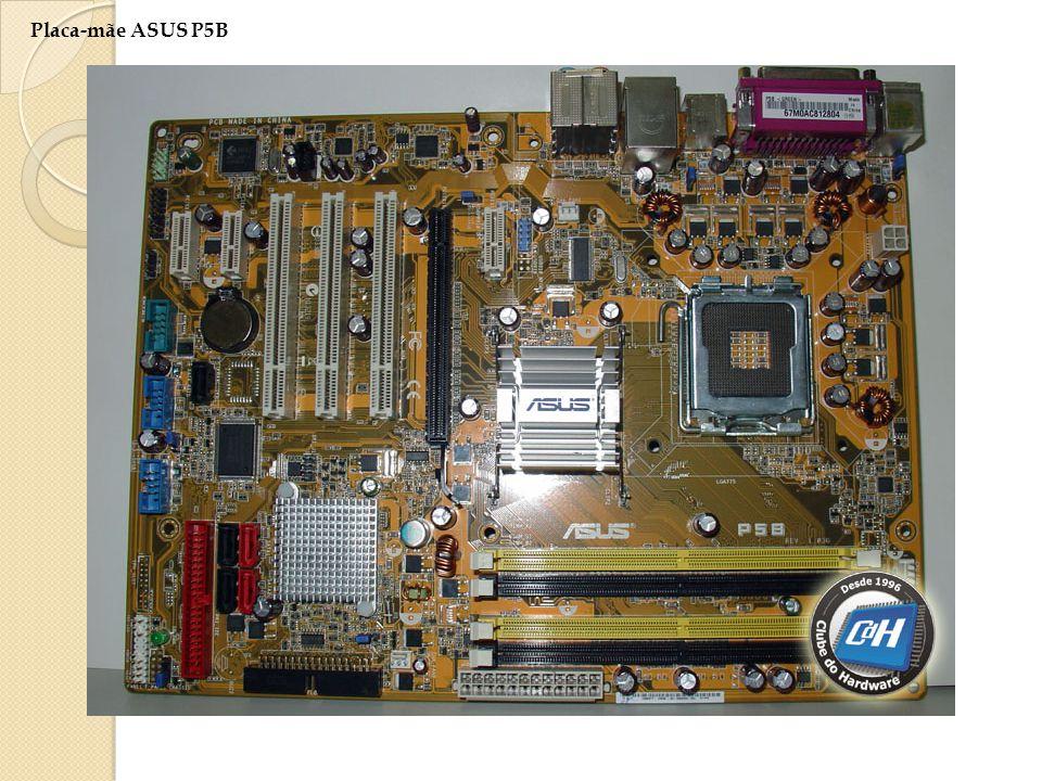 Conectores: mouse e teclado. Portas paralelas para impressora, vídeo, Conectores: cabo de rede. Conectores: som,,microfone 2 usb