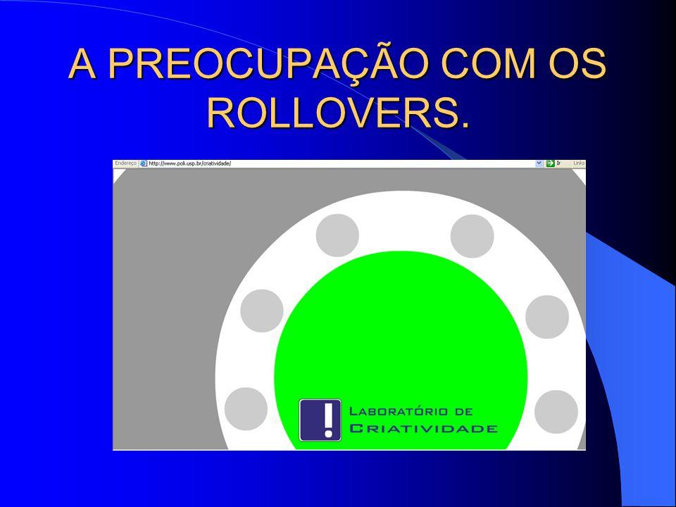 A PREOCUPAÇÃO COM OS ROLLOVERS.
