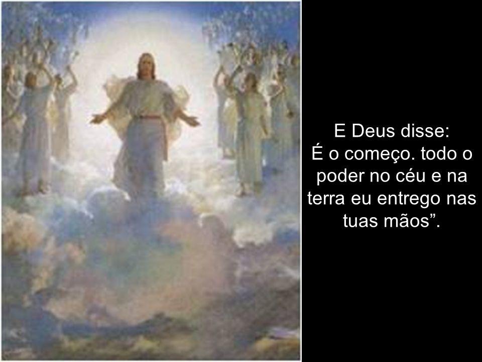 O diabo disse a Jesus, morto na cruz: É o fim! .
