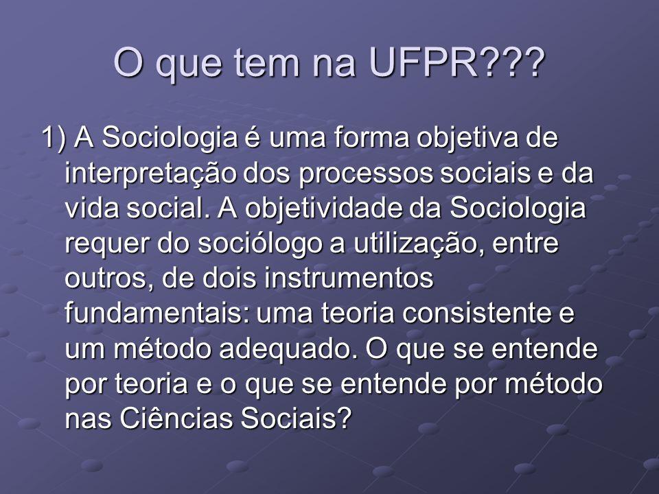 O que tem na UFPR??.