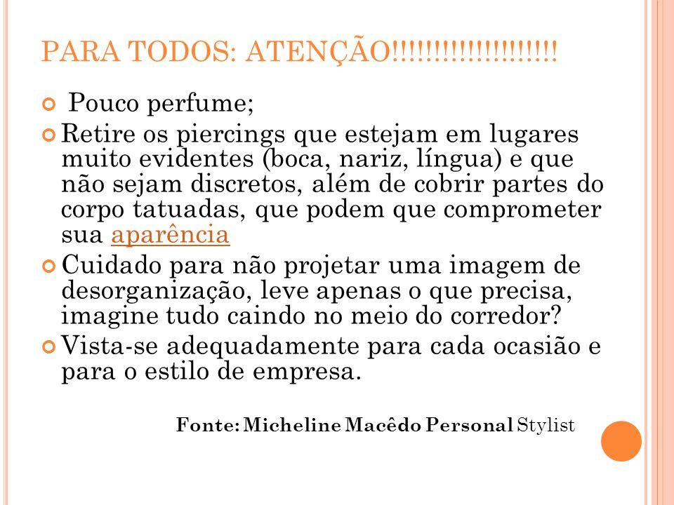 PARA TODOS: ATENÇÃO!!!!!!!!!!!!!!!!!!!.