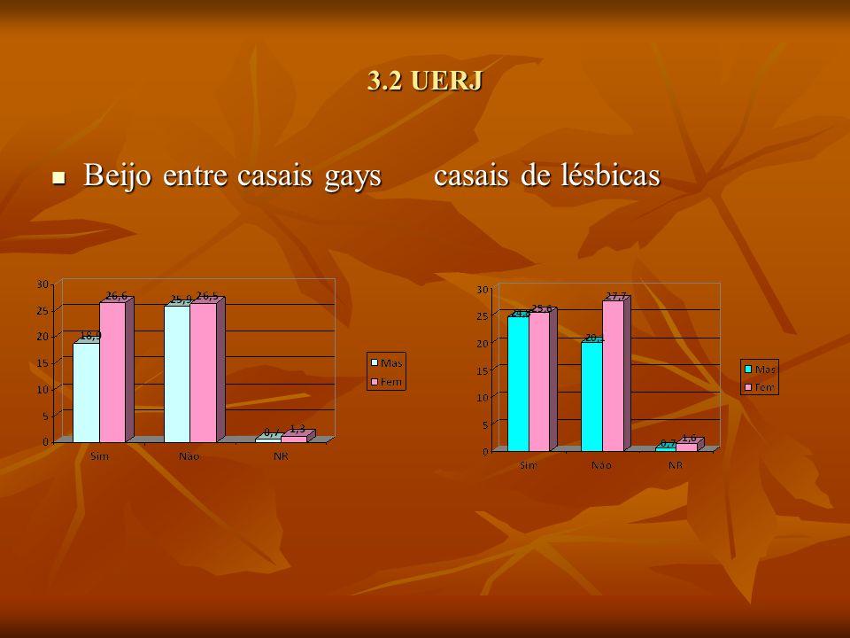 3.2 UERJ Beijo entre casais gays casais de lésbicas Beijo entre casais gays casais de lésbicas