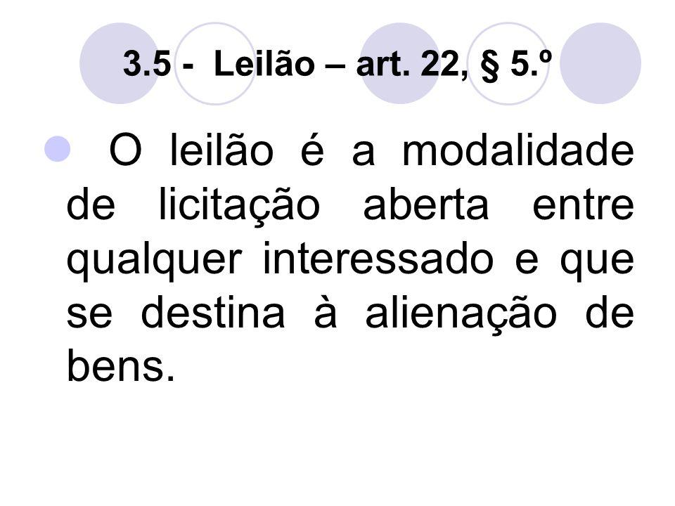 3.5 - Leilão – art.