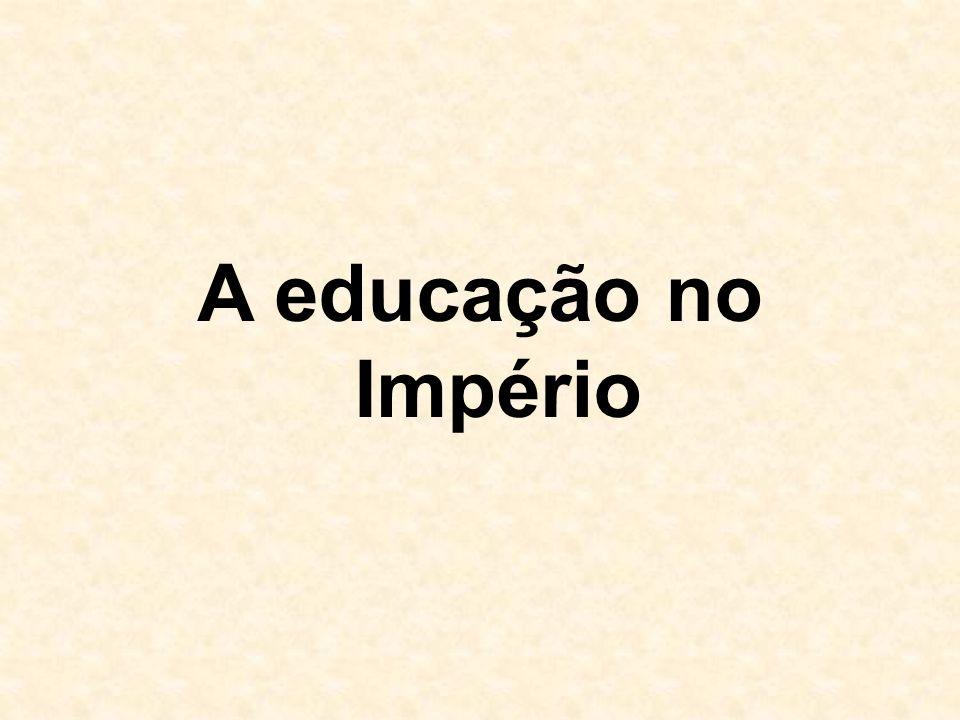  a partir da chegada da corte portuguesa no Brasil, em 1808, o ensino passa por maiores alterações  com D.