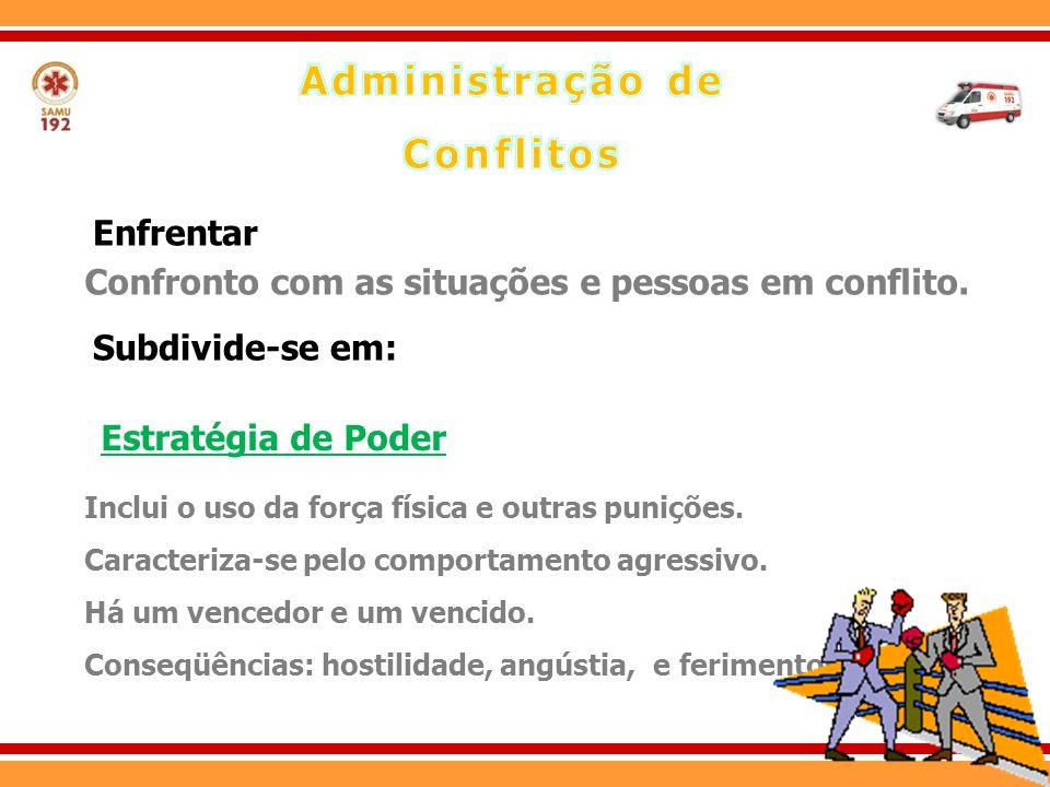 Objetivo consiste em resolver o conflito, com uma solução que satisfaça a ambos os envolvidos.