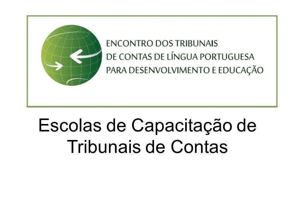 Escolas de Capacitação de Tribunais de Contas