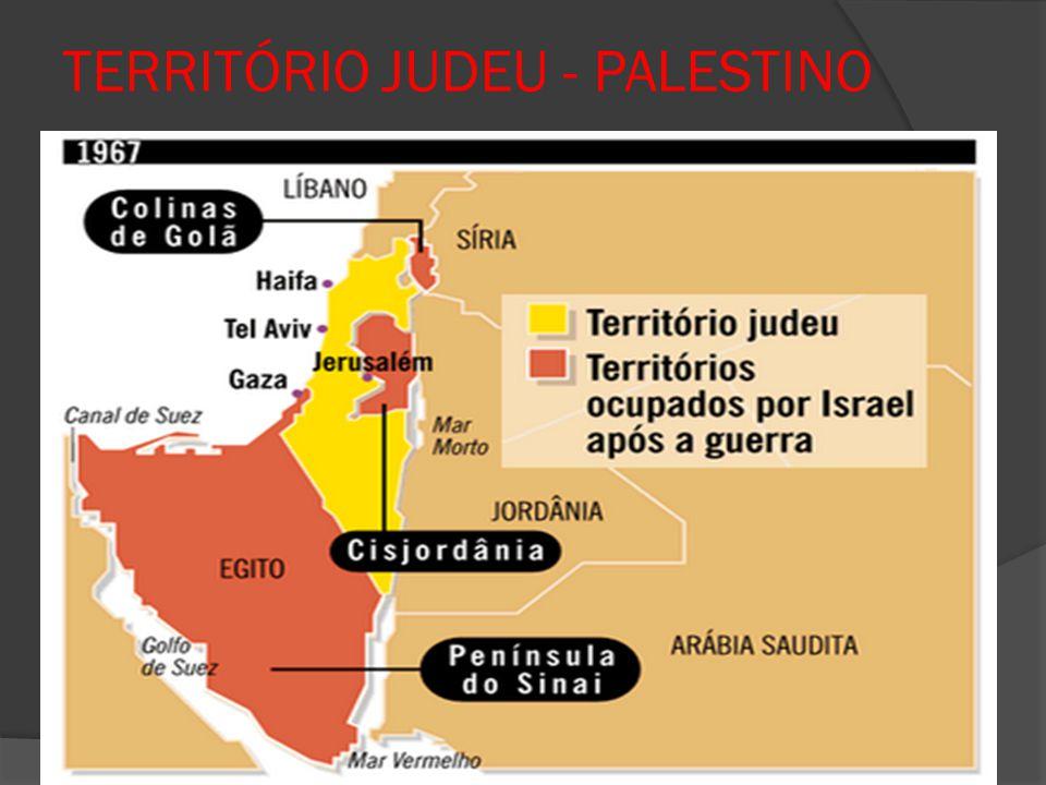YASSER ARAFAT  Surgiram vários movimentos políticos, sendo o mais importante o Fatah, criado por Yasser Arafat, que pregava um confronto militar com Israel.