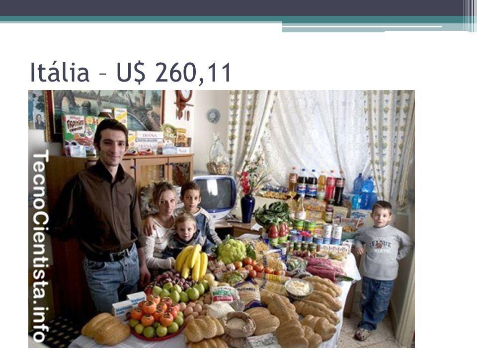 Itália – U$ 260,11