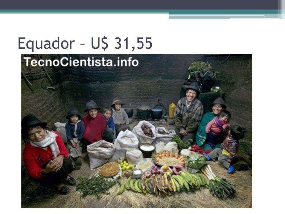 Equador – U$ 31,55