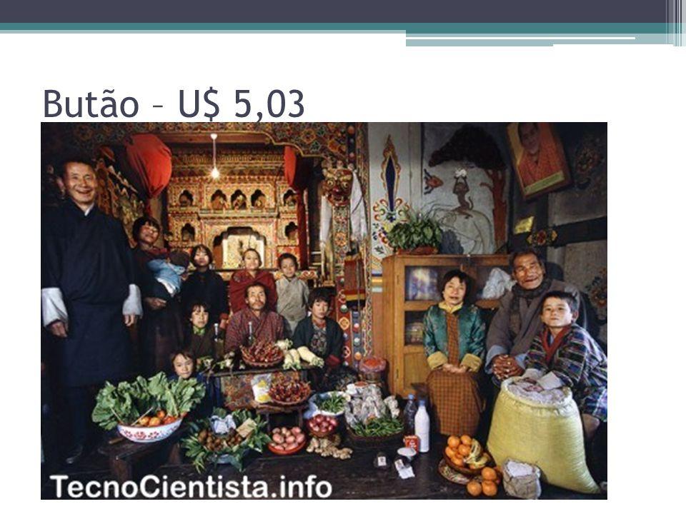 Butão – U$ 5,03