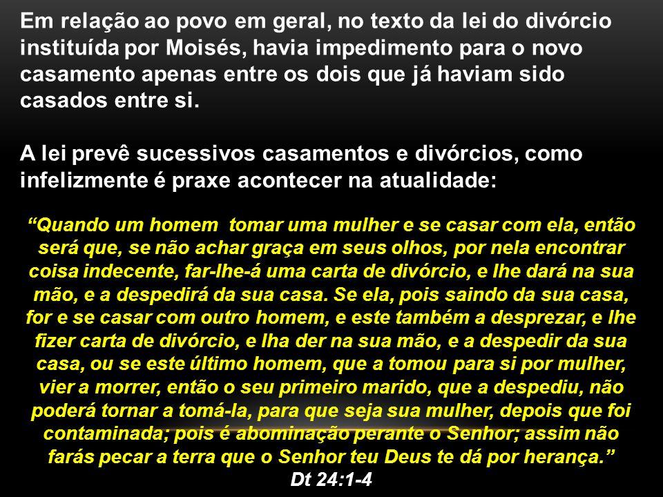 CONCLUSÕES TIRADAS DA LEI DO DIVÓRCIO.