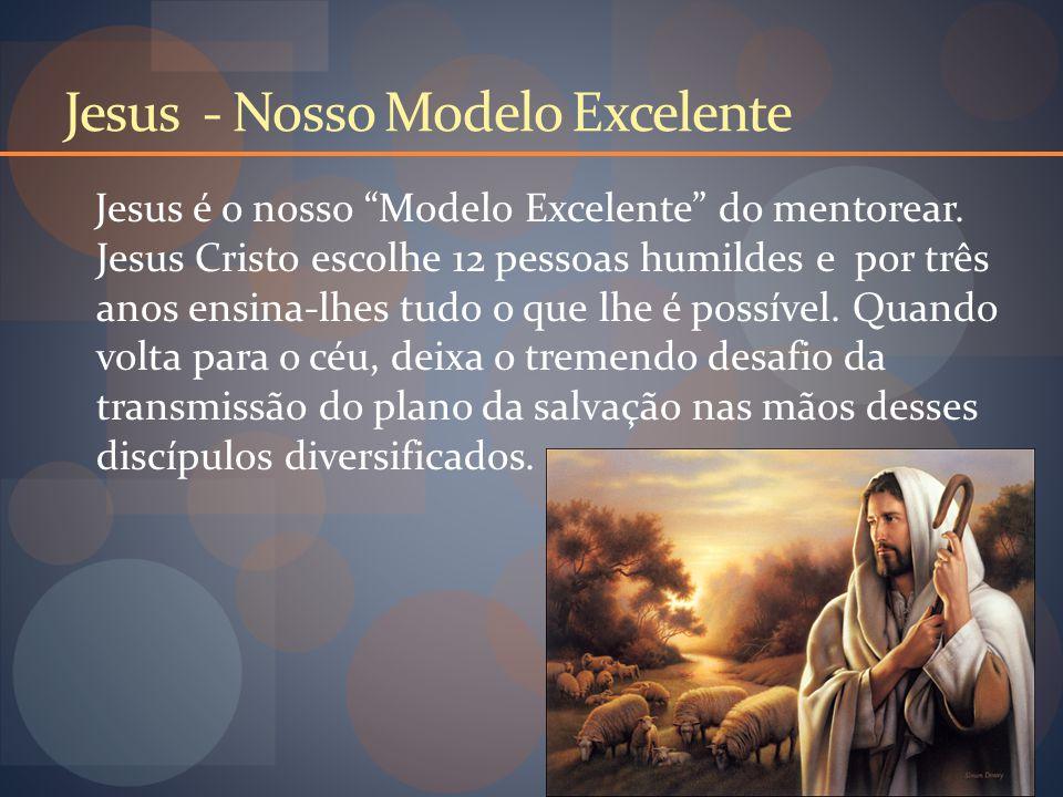 Jesus - Nosso Modelo Excelente Jesus é o nosso Modelo Excelente do mentorear.