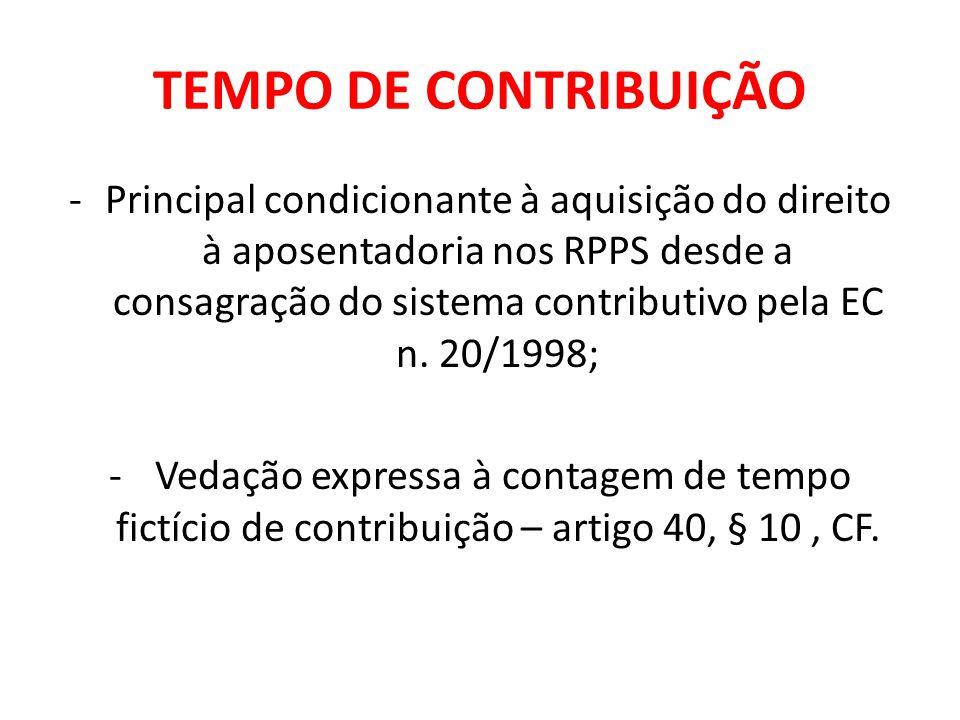 TEMPO DE CARREIRA (artigo 6º, da EC n.41/2003 e artigo 3º, da EC n.