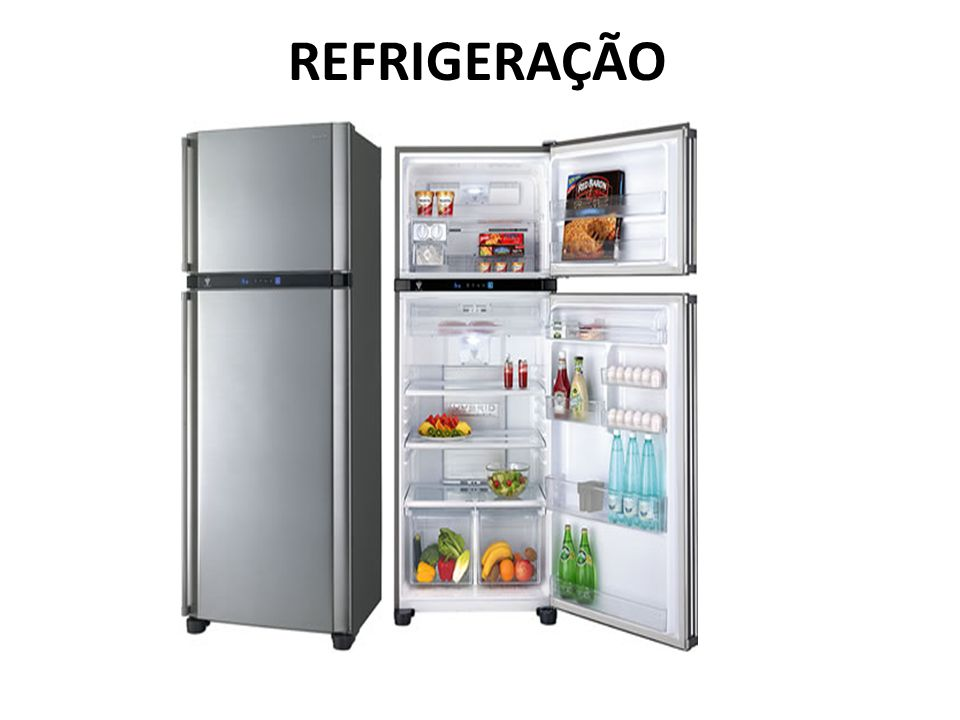 O que faz a geladeira ligar e desligar automaticamente.