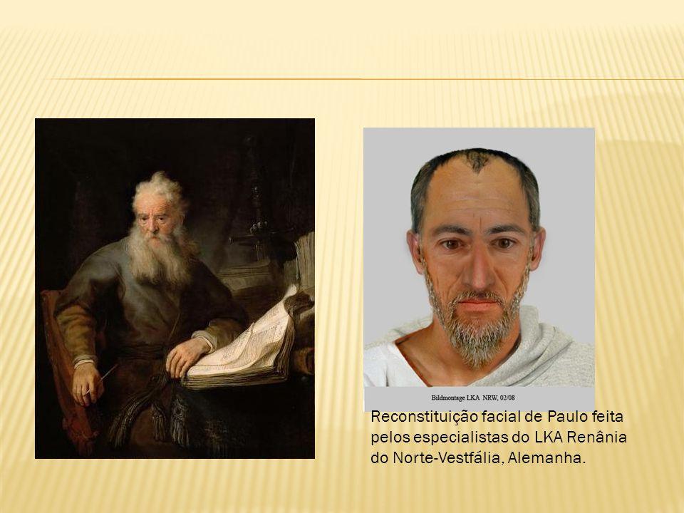 Reconstituição facial de Paulo feita pelos especialistas do LKA Renânia do Norte-Vestfália, Alemanha.