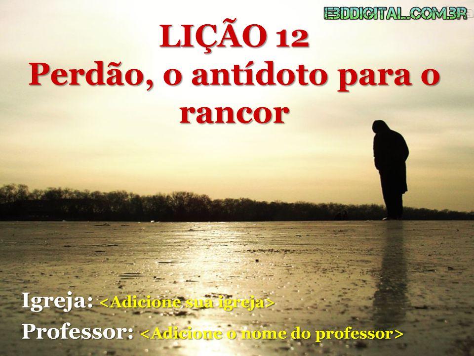 Segundo o dicionário de língua portuguesa, Michaelis, o rancor é definido pelas seguintes palavras: ódio inveterado, oculto, profundo.