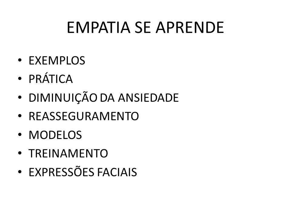 QUANDO HÁ EXCESSO DE EMPATIA.