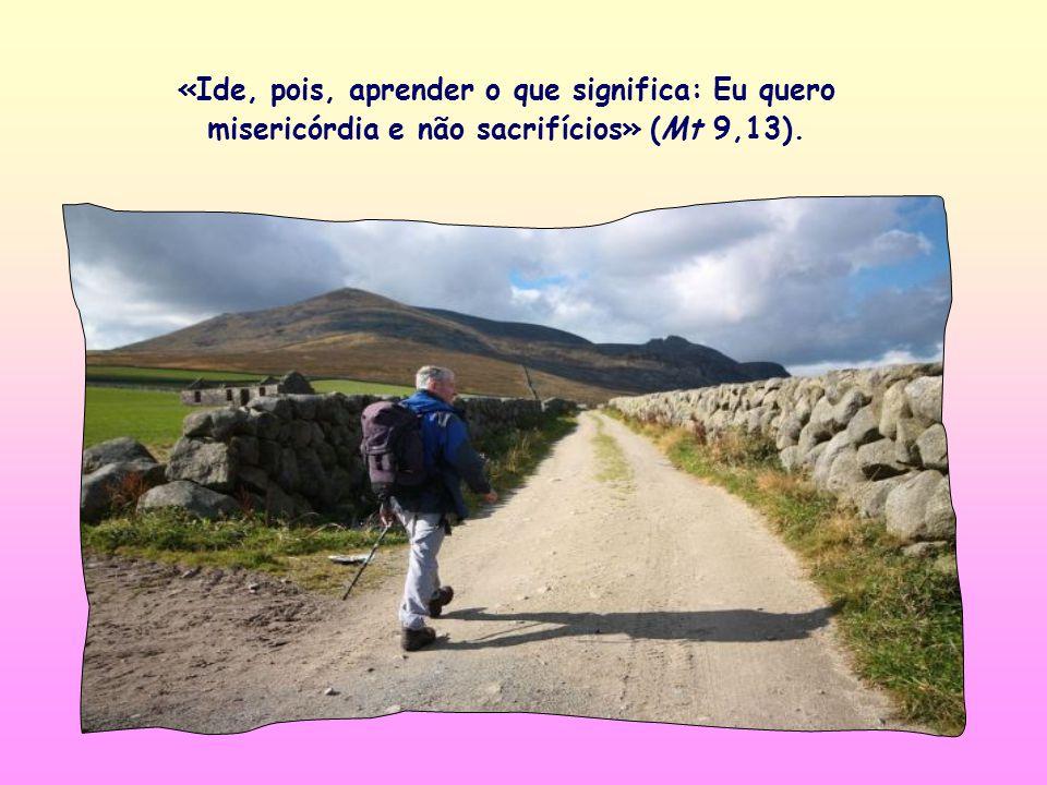 Chiara Lubich, costumava comentar o versículo bíblico. Propomos um texto seu, sobre o versículo de Mt 9,13 (confrontar com Oseias 6,6), escrito por el
