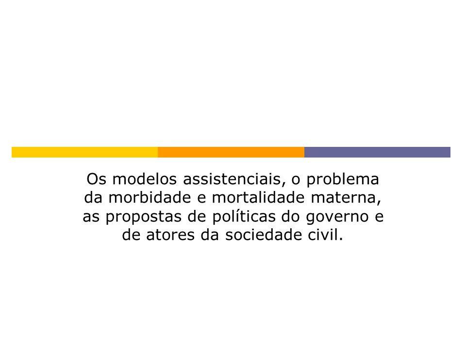 GÊNERO, SAÚDE MATERNA E O PARADOXO PERINATAL Diniz SG.