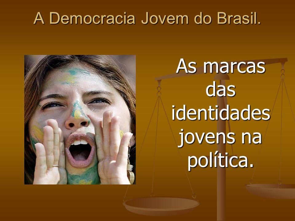 A Democracia Jovem do Brasil. As marcas das identidades jovens na política.