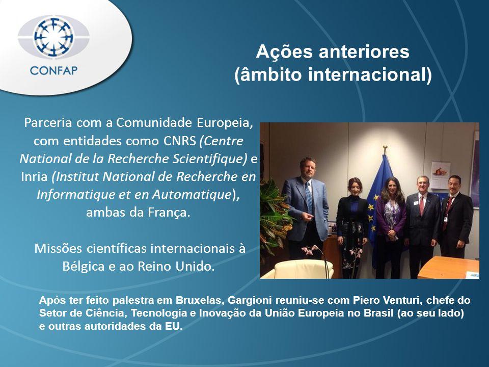 Assinatura de Acordo com o Conselho Britânico em 09/04/2014 fez do CONFAP a primeira instituição brasileira a poder operar o Fundo Newton no Brasil, que aportará ao país cerca de R$33 milhões/ano (fora contrapartidas) por um período de três anos.