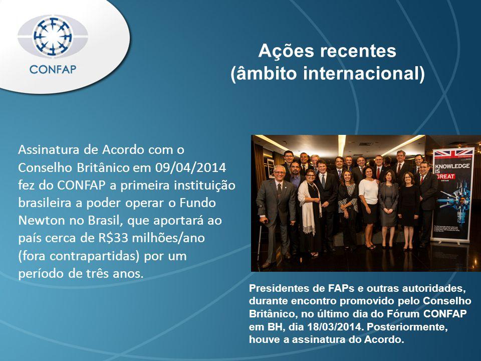 Contatos e redes sociais E-mail: secretaria@confap.org.br Telefone: + 55 61 3039 9449 Site: www.confap.org.br Facebook: /confap.org Twitter: @confapbrasil