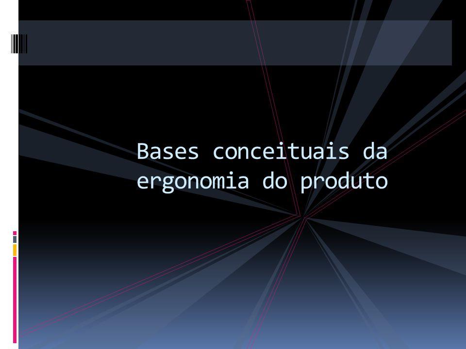 Bases conceituais da ergonomia do produto