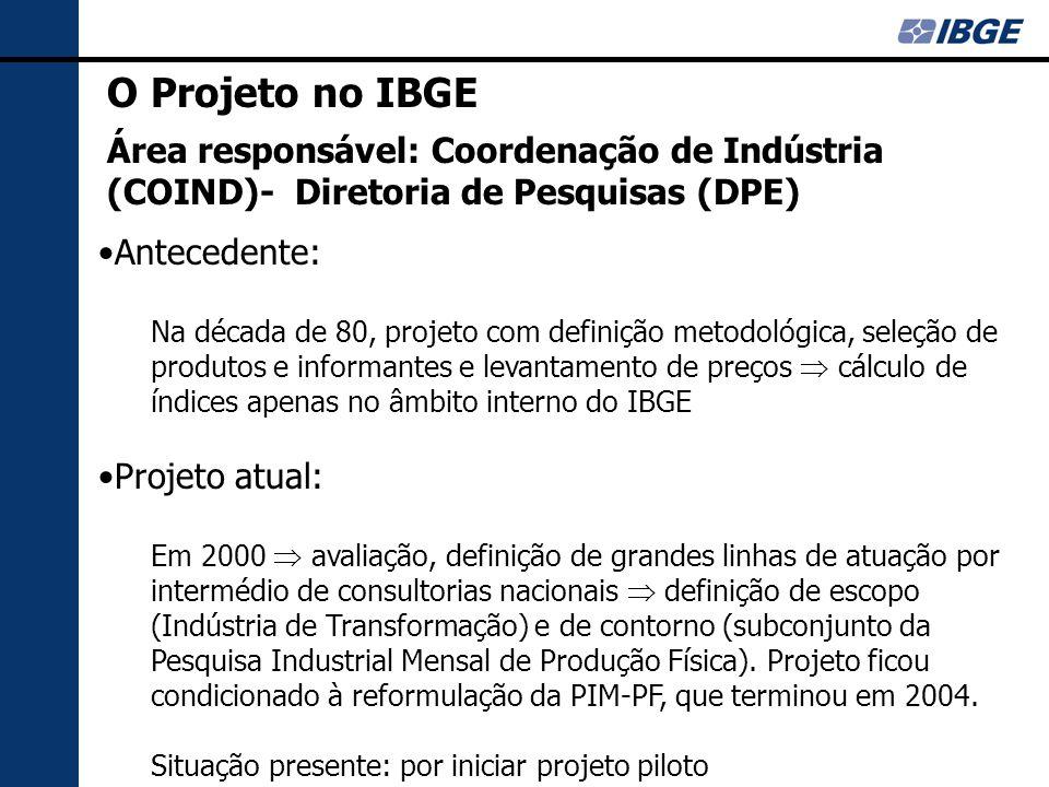 Diretriz geral: Consultoria Internacional Contatos Internacionais: Visita ao Chile (2003): projeto chileno faz parte do acordo União Européia e Mercosul.