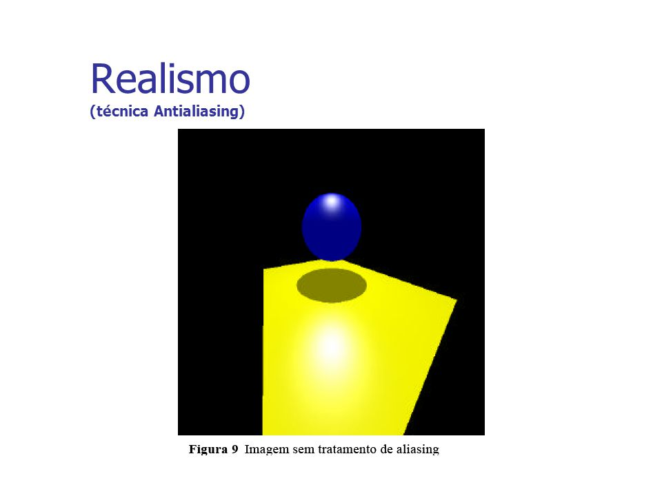 Realismo (técnica Antialiasing)