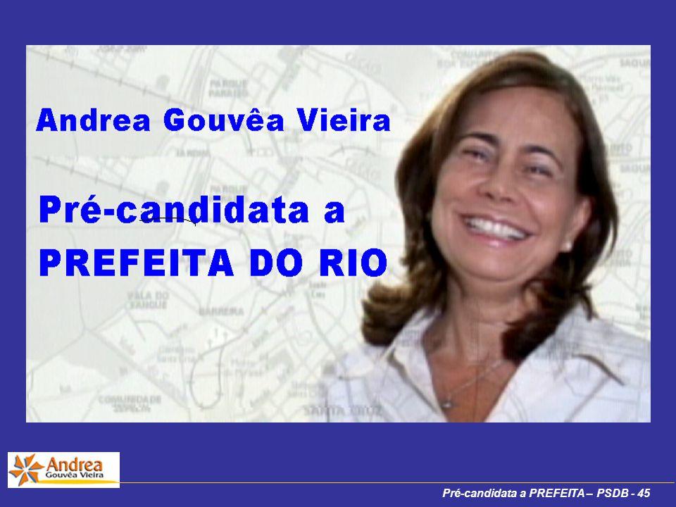 Pré-candidata a PREFEITA – PSDB - 45