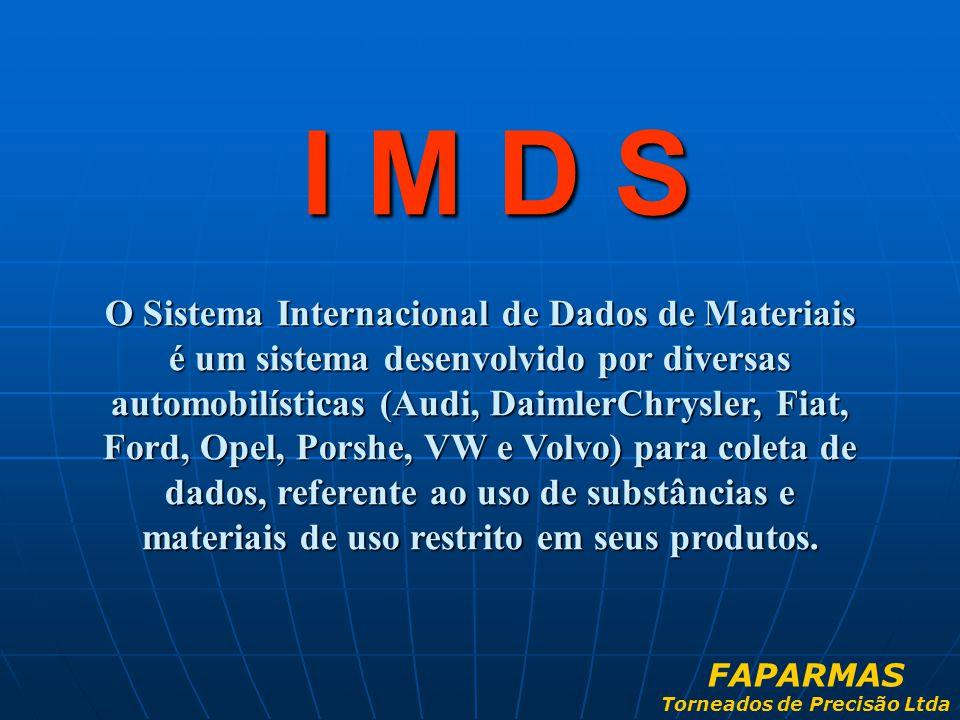 O Sistema Internacional de Dados de Materiais é um sistema desenvolvido por diversas automobilísticas (Audi, DaimlerChrysler, Fiat, Ford, Opel, Porshe