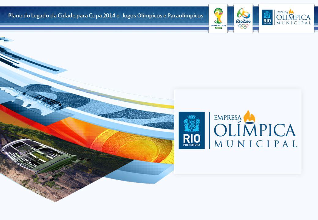 Plano do Legado da Cidade para Copa 2014 e Jogos Olímpicos e Paraolímpicos