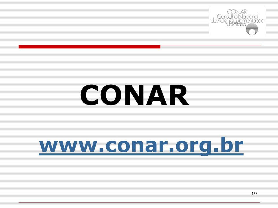 19 CONAR www.conar.org.br