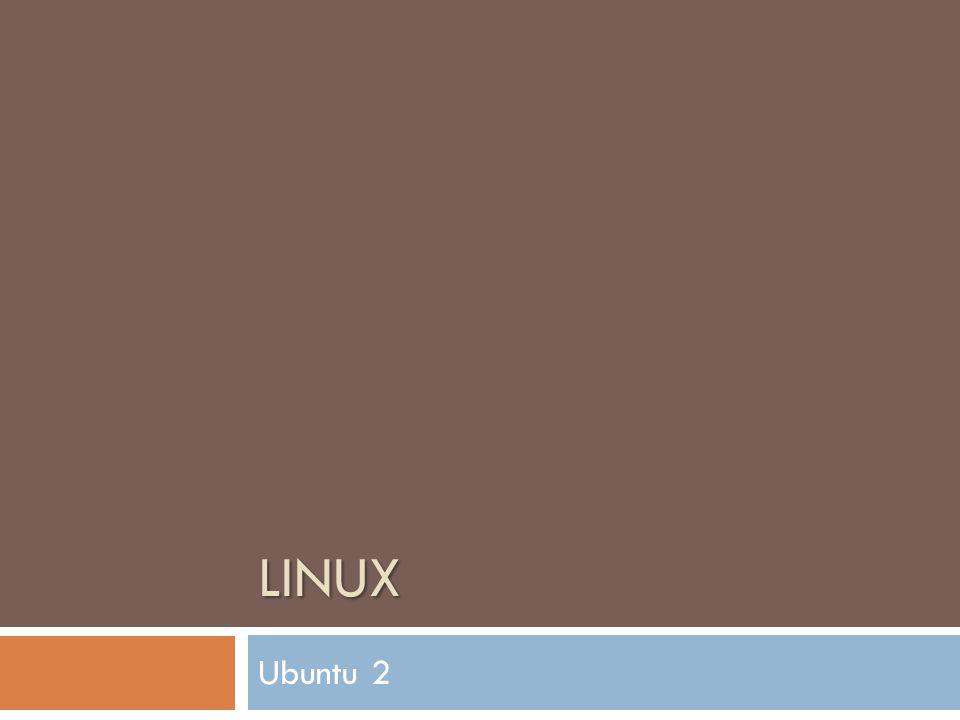 LINUX Ubuntu 2