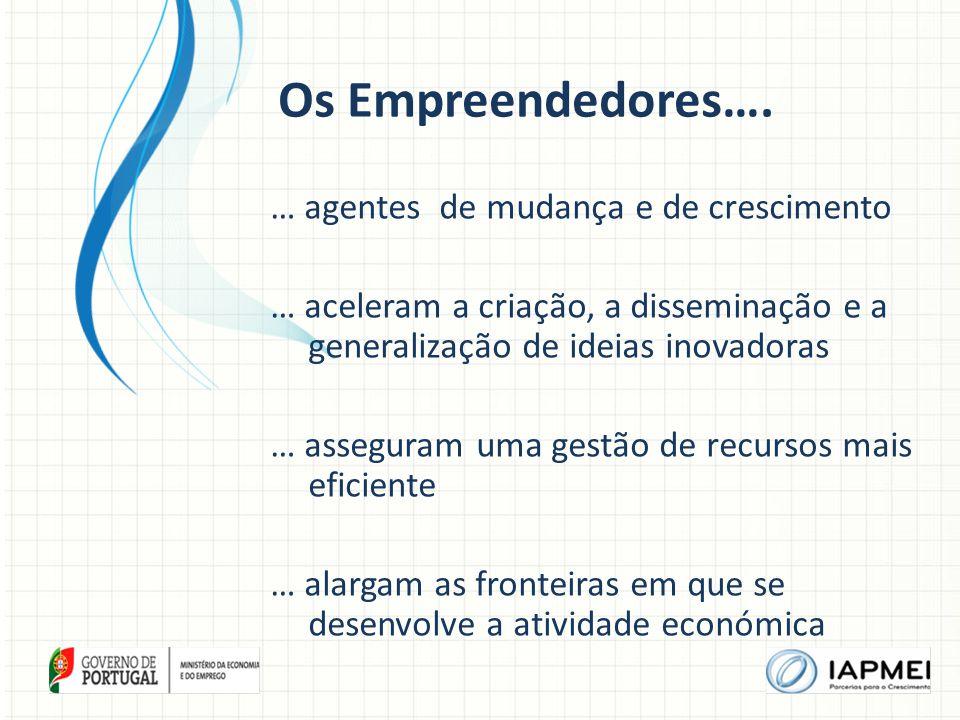 Os Empreendedores….